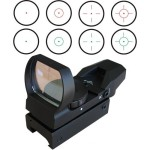 Field Sport Red and Green Reflex Sight with 4 Reticles