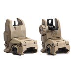 Magpul Industries MBUS Generation II Sight Set Front & Rear Color