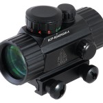 UTG New Gen 4-Inch Red/Green Dot Sight with Integral Picatinny Mounting Deck - (SCP-RD40RGW-A)