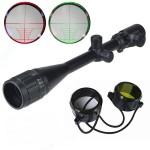 Dakota Sport & Supply 6-24x50 Rifle Scope Red & Green Illuminated Mil-Dot Sniper Rifle/Varmint Scope