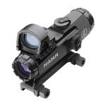 Leupold 111412 Mark 4 HAMR Rife Scope with DeltaPoint and Flat Top Mount, 4X24-Millimeter, Black Matte Finish