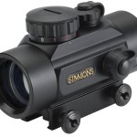 Simmons RedDot 1x 30mm 3-MOA Dot, Red/Green/Blue Illuminated Scope