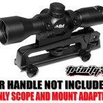 Trinity Supply Scope, Rifle Scope, Hunting Rifle Scope, Ar Rifle Scope, Ar-15/ M4 Carrying Handle Scope/4x32 Sniper Scope, Fast Shipping