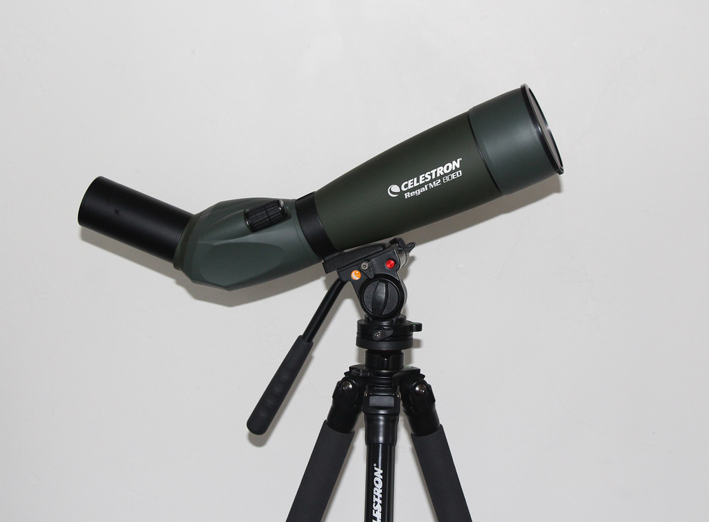 standing spotting scope